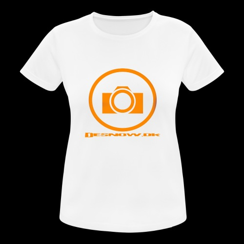 Orange 2 png - Dame T-shirt svedtransporterende