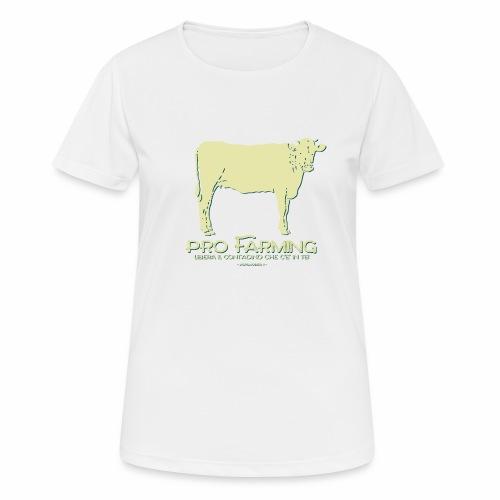 PRO Farming - Maglietta da donna traspirante