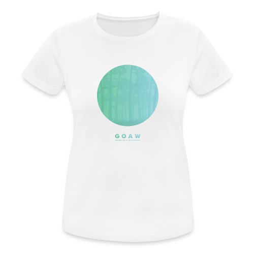 Trees in a circle - Women's Breathable T-Shirt