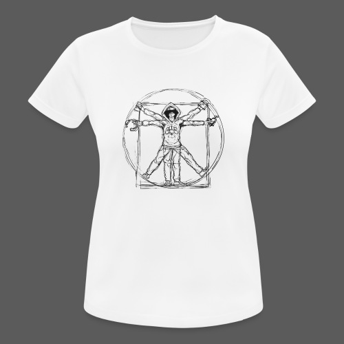 The Vitruvian Gamer - Frauen T-Shirt atmungsaktiv