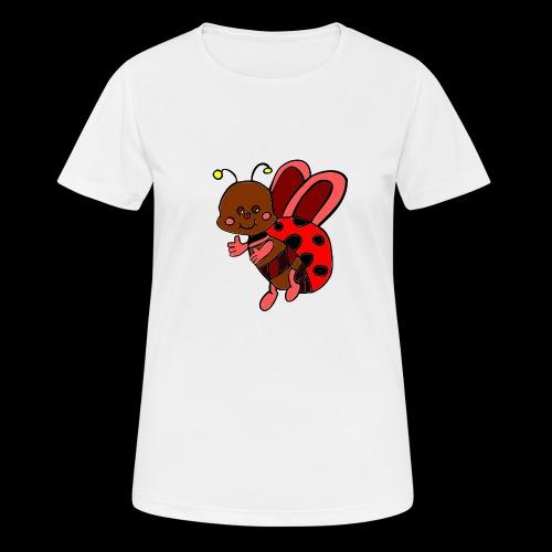 marienkaefer bunt - Frauen T-Shirt atmungsaktiv