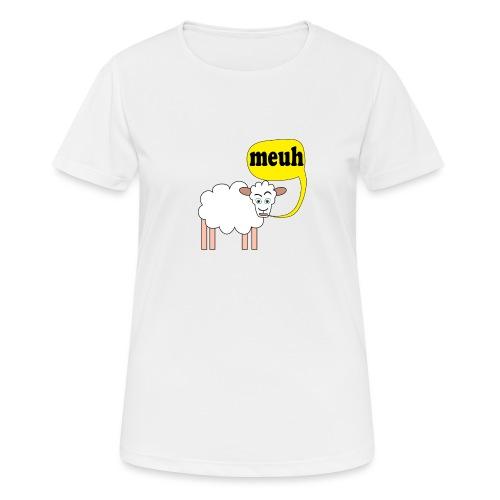 Mouton meuh ! - T-shirt respirant Femme