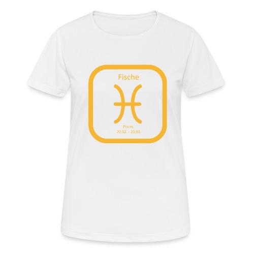 Horoskop fish12 - Koszulka damska oddychająca