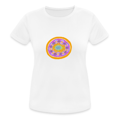 Mandala Pizza - Women's Breathable T-Shirt