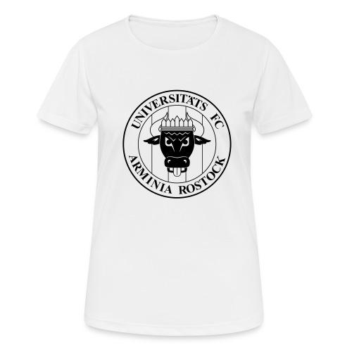 UFC Logo nur schwarz - Frauen T-Shirt atmungsaktiv