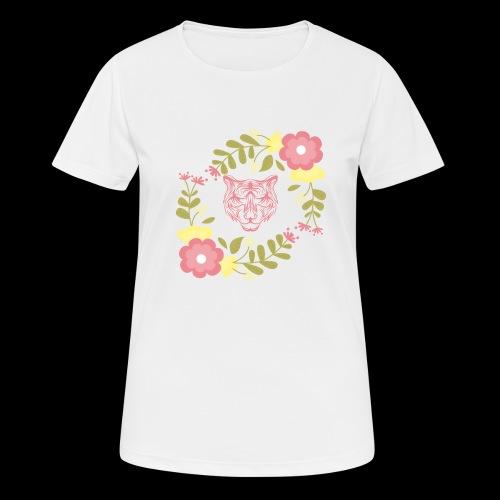 Tee-shirt TIGRE - T-shirt respirant Femme