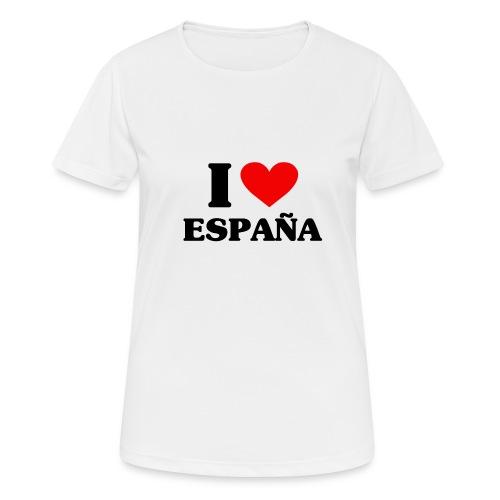 I love Espana - Frauen T-Shirt atmungsaktiv