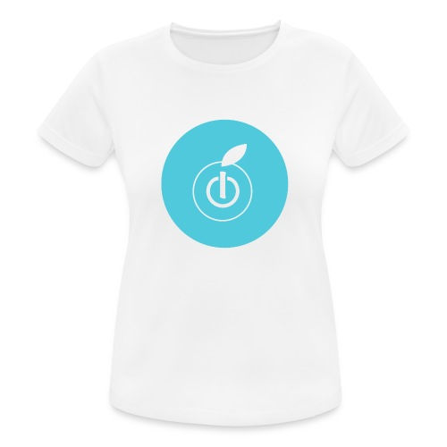 AppleZein Logo Grande - Maglietta da donna traspirante