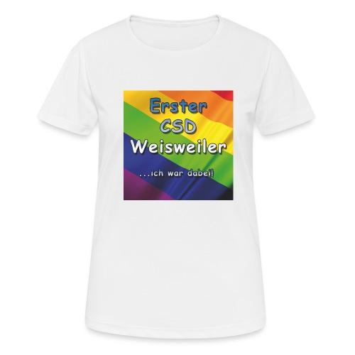 Erster CSD Weisweiler - Frauen T-Shirt atmungsaktiv
