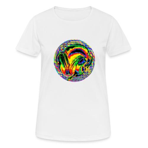Casque à facettes - T-shirt respirant Femme