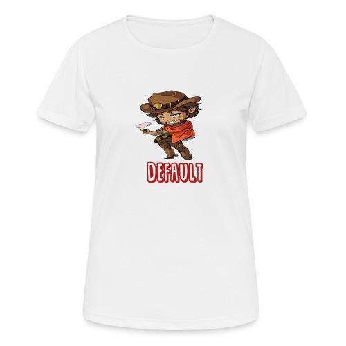 DeF Clan logo - Pustende T-skjorte for kvinner