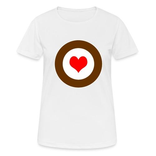 HEART - Frauen T-Shirt atmungsaktiv