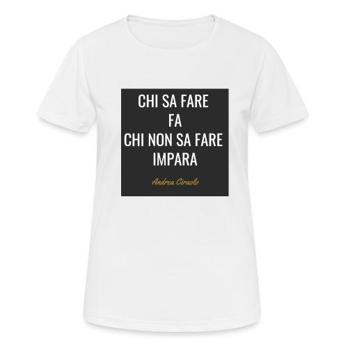 Ciraolo - Maglietta da donna traspirante
