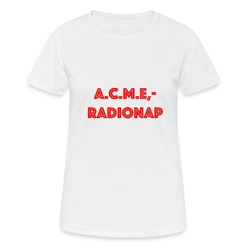 acmeradionaprot - Frauen T-Shirt atmungsaktiv