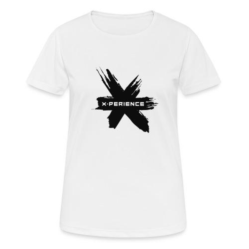 x-perience - Das neue Logo - Frauen T-Shirt atmungsaktiv