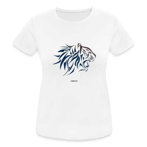 tiger vector - Camiseta mujer transpirable