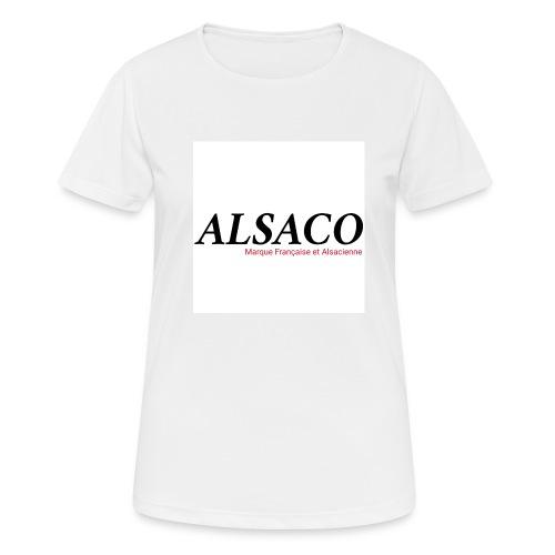 Alsaco original - T-shirt respirant Femme