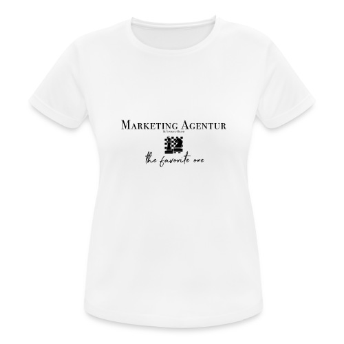 MARKETING AGENTUR - Frauen T-Shirt atmungsaktiv