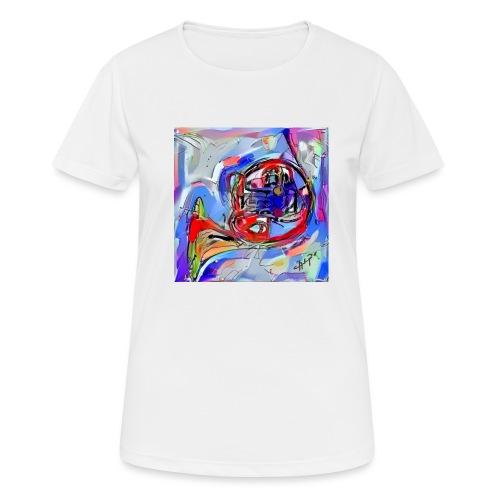 cornoarte1 - Vrouwen T-shirt ademend actief