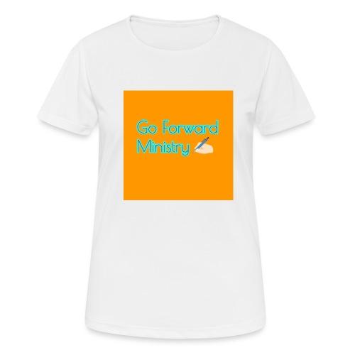 gå framåt ministeriet - Andningsaktiv T-shirt dam