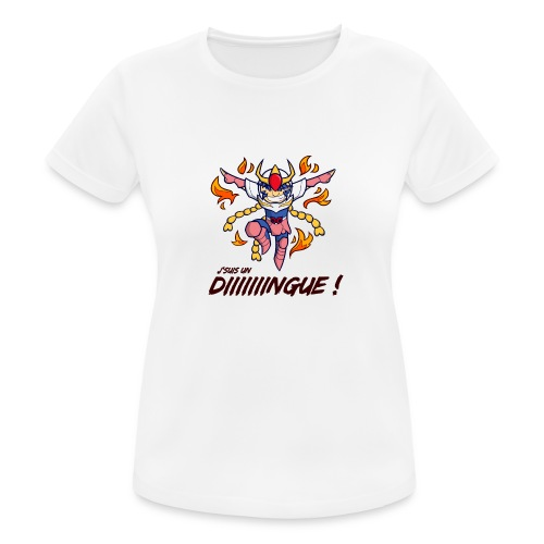 Ikki - J'suis un dingue - T-shirt respirant Femme