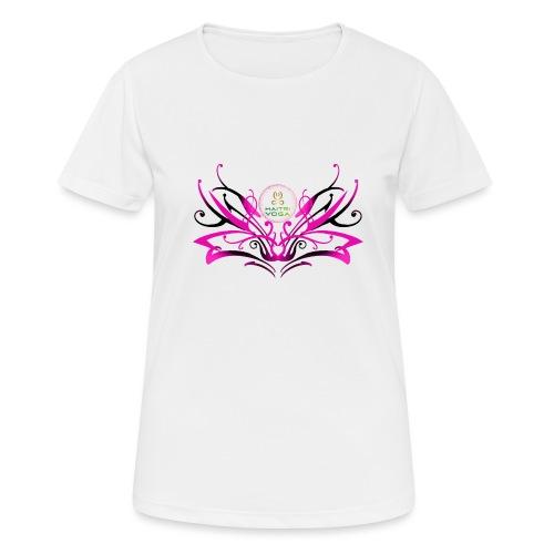 ButterFly MaitriYoga - T-shirt respirant Femme