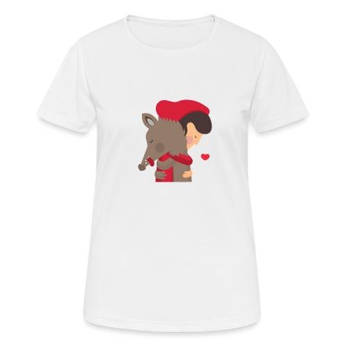 Abbracciccio-02 - Maglietta da donna traspirante