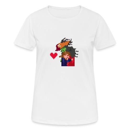 Abbracciccio-06 - Maglietta da donna traspirante