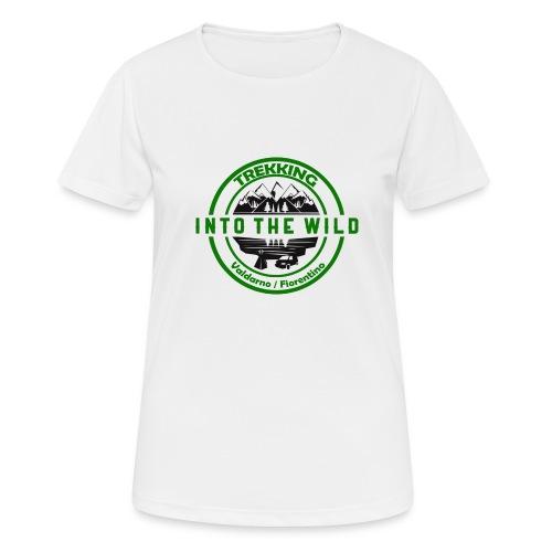 Into The Wild Trekking T-Shirt Uomo - Maglietta da donna traspirante
