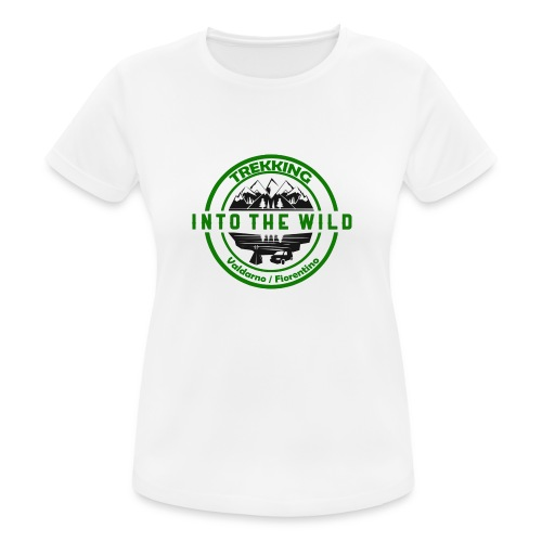 Into The Wild Trekking T-Shirt Donna - Maglietta da donna traspirante