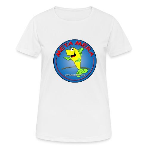 metamera_fish - Andningsaktiv T-shirt dam