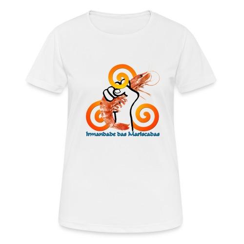 Irmandade das Mariscadas - Camiseta mujer transpirable