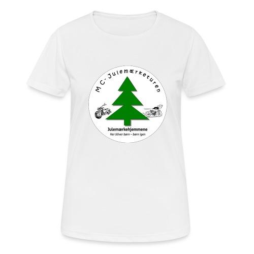 MCJul - Dame T-shirt svedtransporterende