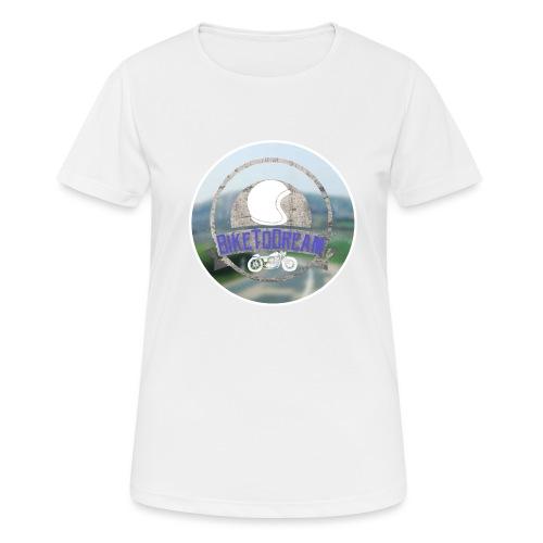 BikeToDream - T-shirt respirant Femme