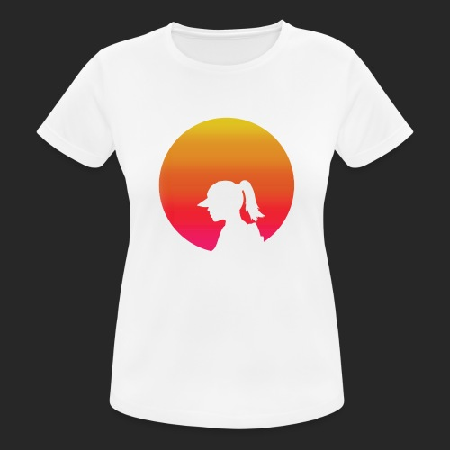 Gradient Girl - Women's Breathable T-Shirt