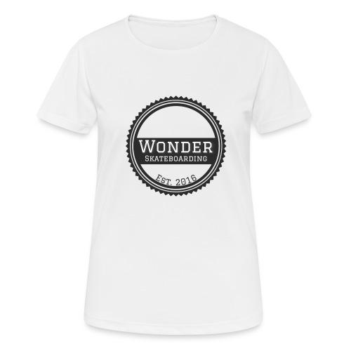 Wonder unisex-shirt round logo - Dame T-shirt svedtransporterende