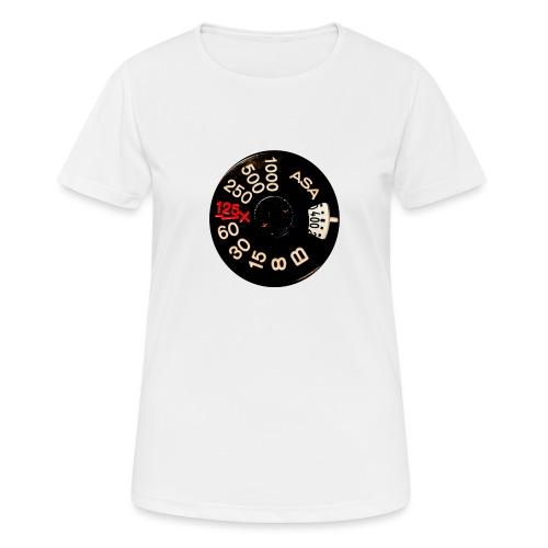 Manual Camera - Maglietta da donna traspirante