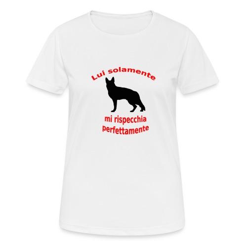 Pastore Tedesco - Maglietta da donna traspirante