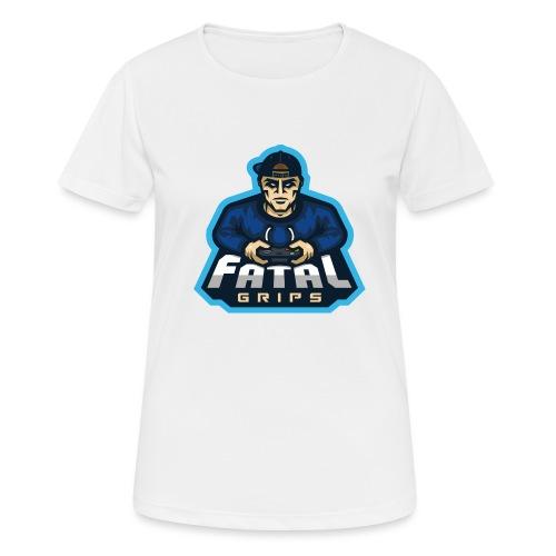 Fatal Grips Merch - Andningsaktiv T-shirt dam