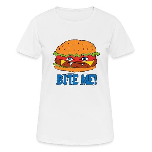 Bite me! - Maglietta da donna traspirante