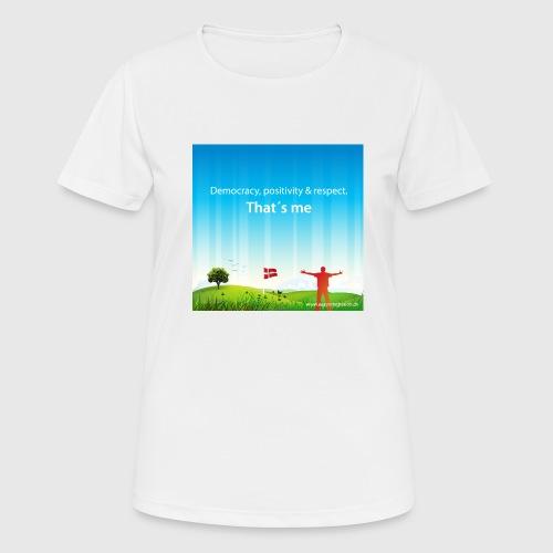 Rolling hills tshirt - Dame T-shirt svedtransporterende