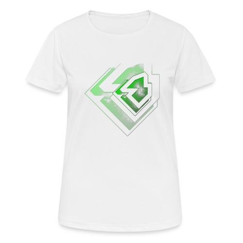 BRANDSHIRT LOGO GANGGREEN - Vrouwen T-shirt ademend actief