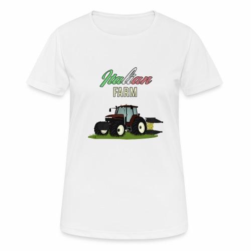 Italian Farm official T-SHIRT - Maglietta da donna traspirante