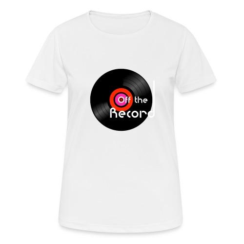 Off the Record - naisten tekninen t-paita