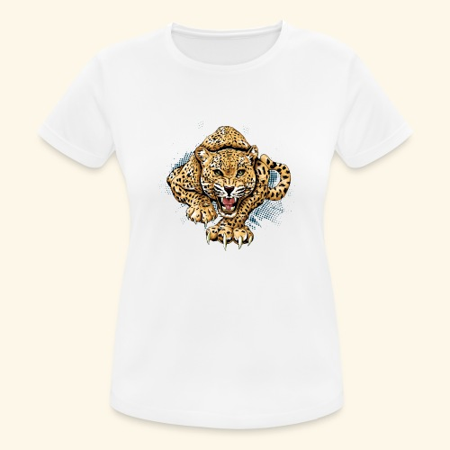 Leopardo KutuXa - Camiseta mujer transpirable
