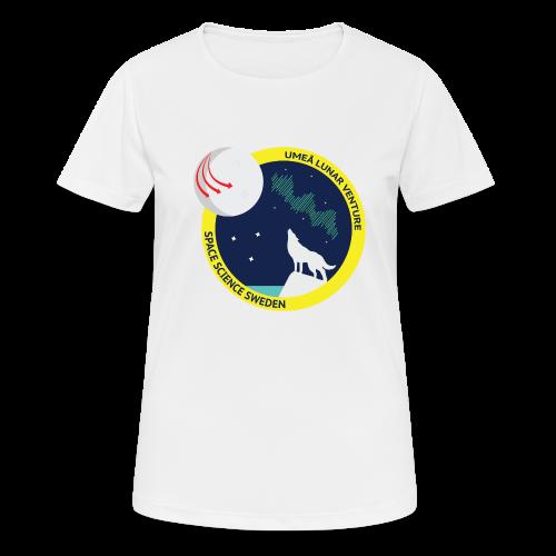 ULV - Umeå Lunar Venture - Andningsaktiv T-shirt dam