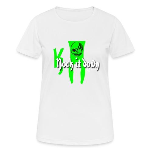 Nock it down - Frauen T-Shirt atmungsaktiv