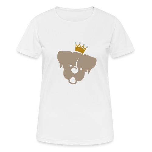 Prinz Poldi braun - Frauen T-Shirt atmungsaktiv