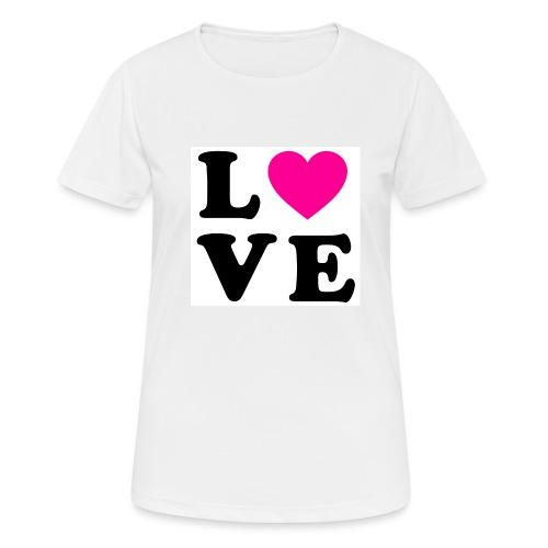 Love t-shirt - T-shirt respirant Femme