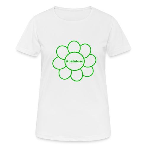 #petaloso - Maglietta da donna traspirante